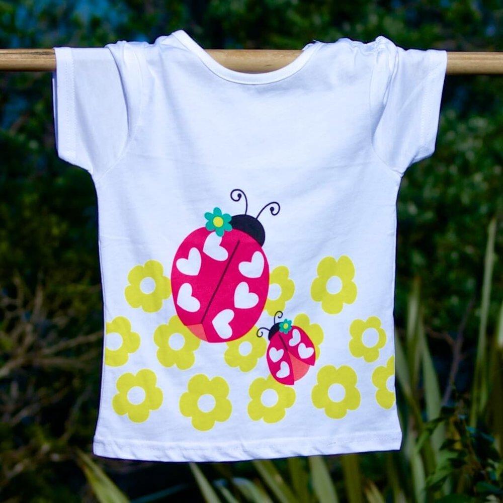 335f2fd83 Ladybird 🐞 girls t-shirt — Milazzo Kids Clothes Stylish kids ...