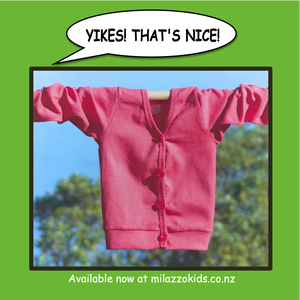 Pink cardy -