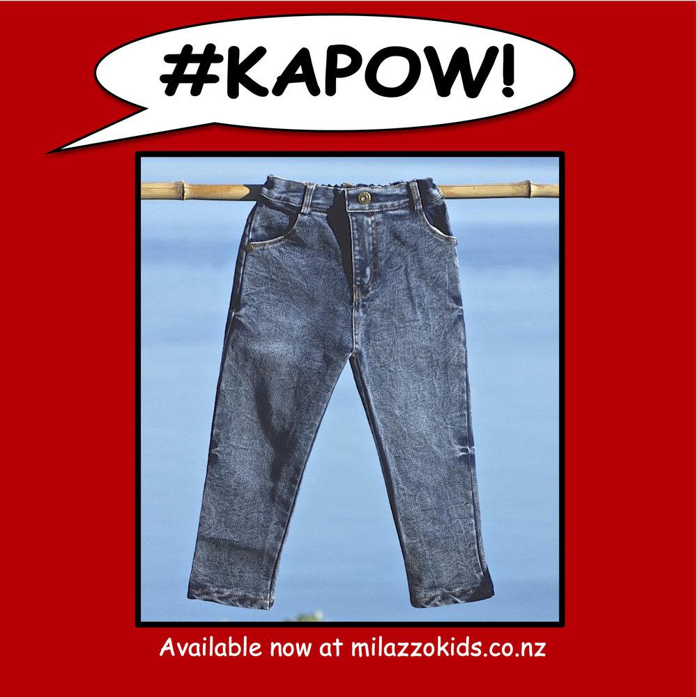 Trendy jeans -