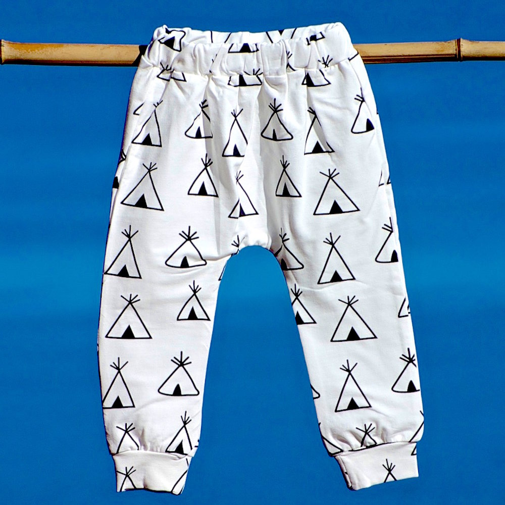 TEEPEE leggings - Boys or girls - cool as a cucumber leggings!