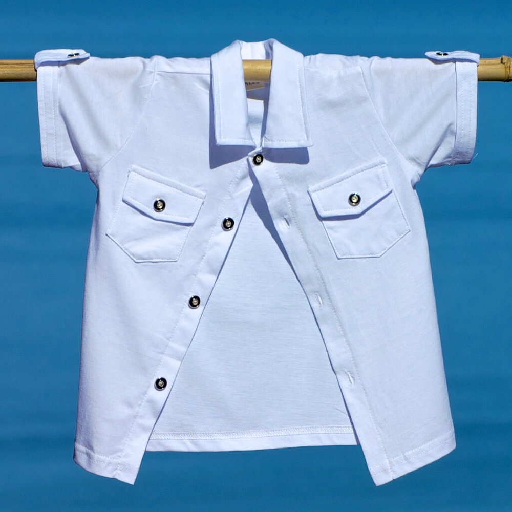 kids clothes white shirt