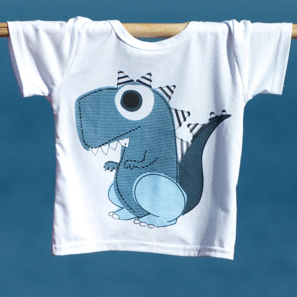 kids clothes unisex dinosaur t-shirt