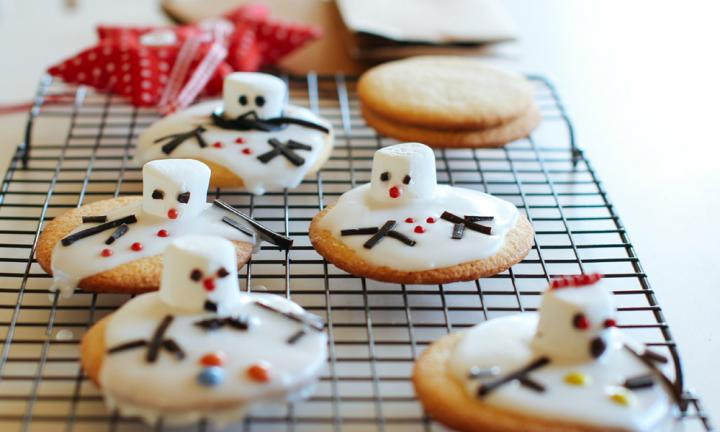 snowman cookies for kids