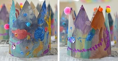 kids clothing home made crown