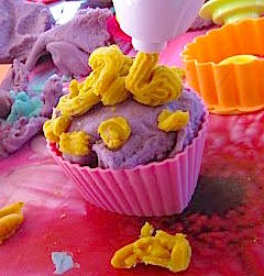 playdough cake for little kids