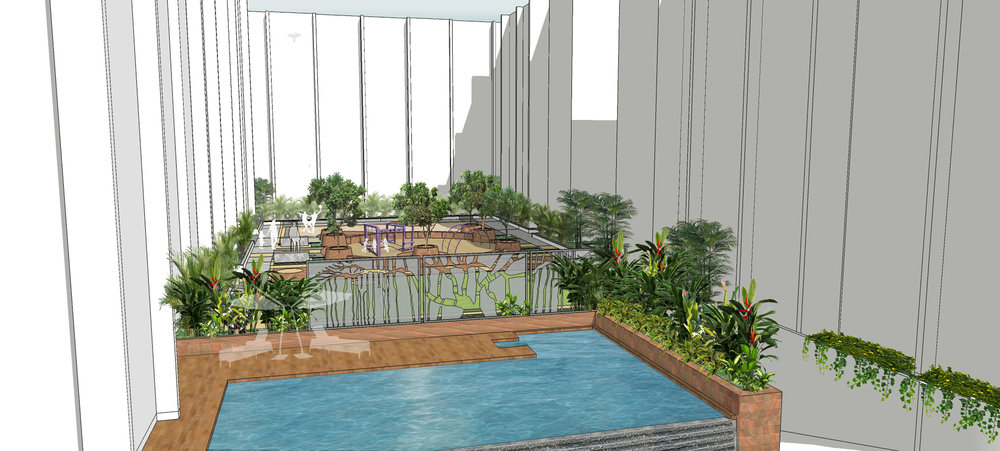 Ficus-landscape-bangalore-banyan courtyard-orissa-apartment-courtyard-podium-04