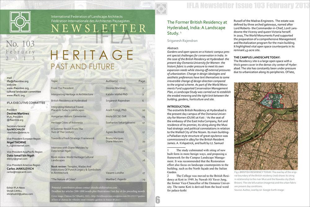 IFLA Newsletter February 2013