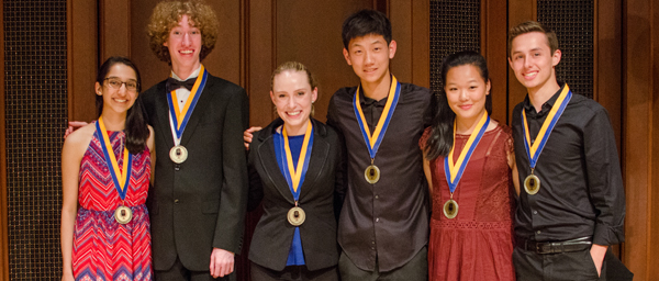 Music Academy fellows performed for a live audience on June 15, 2017 at Hahn Hall. Photo: From The Top