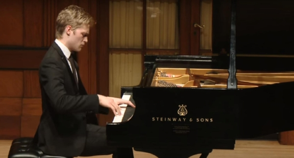 Alumnus pianist  Micah McLaurin  ('14, '16) will perform  Rhapsody in Blue. The iconic piece will be performed in a new critical edition using the original instrumentation and newly-restored music.