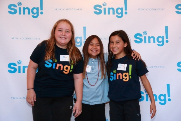 Sing! choral program launched - 66 participants from nine schools rehearse after school and will perform in local venues.