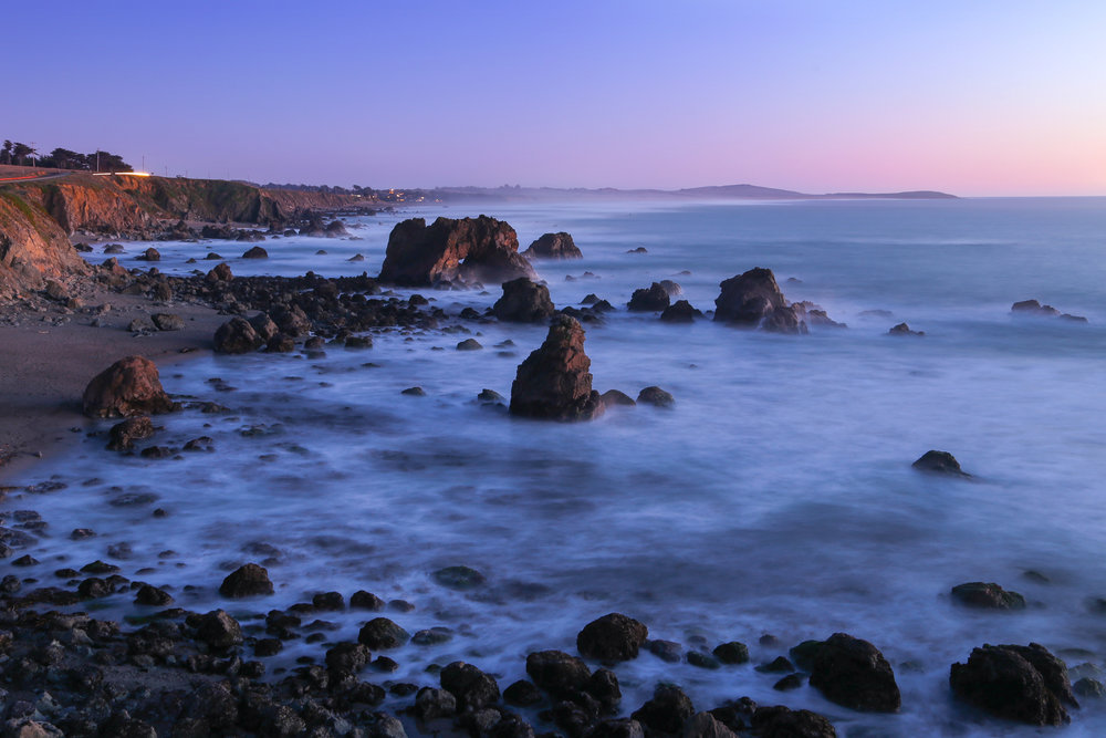 The rugged Sonoma Coast