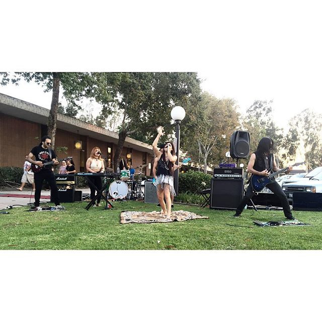 @valoramusic was amazing yesterday at our Santa Fe springs art fest if you missed out no worries they will be back again ASAP