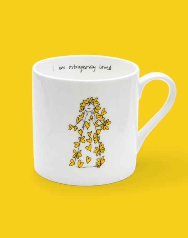 I AM Outrageously loved MUG yellow.jpg