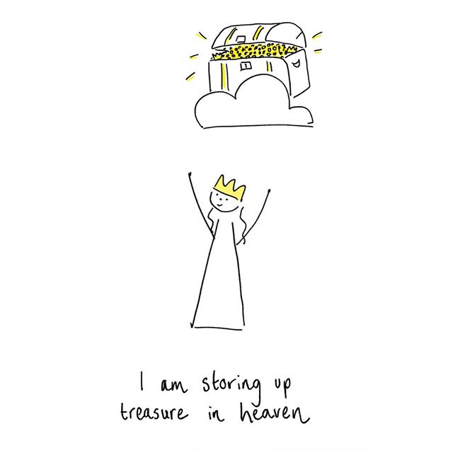 Mums, we 💛 you (and so does God!)! Remember, you are storing up treasure in heaven!