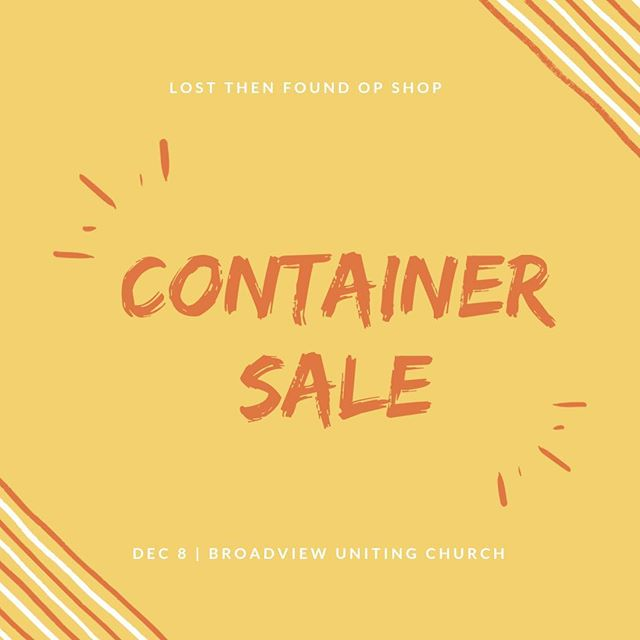 Hey friends! We are open for another clearance sale tomorrow 9-1! Come along for cheap goods 👌🏻 #opshop #thriftshop #thrift #clothes #sale #adelaide