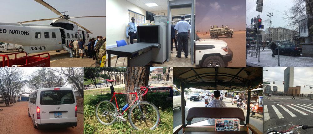 Photos by UN employees