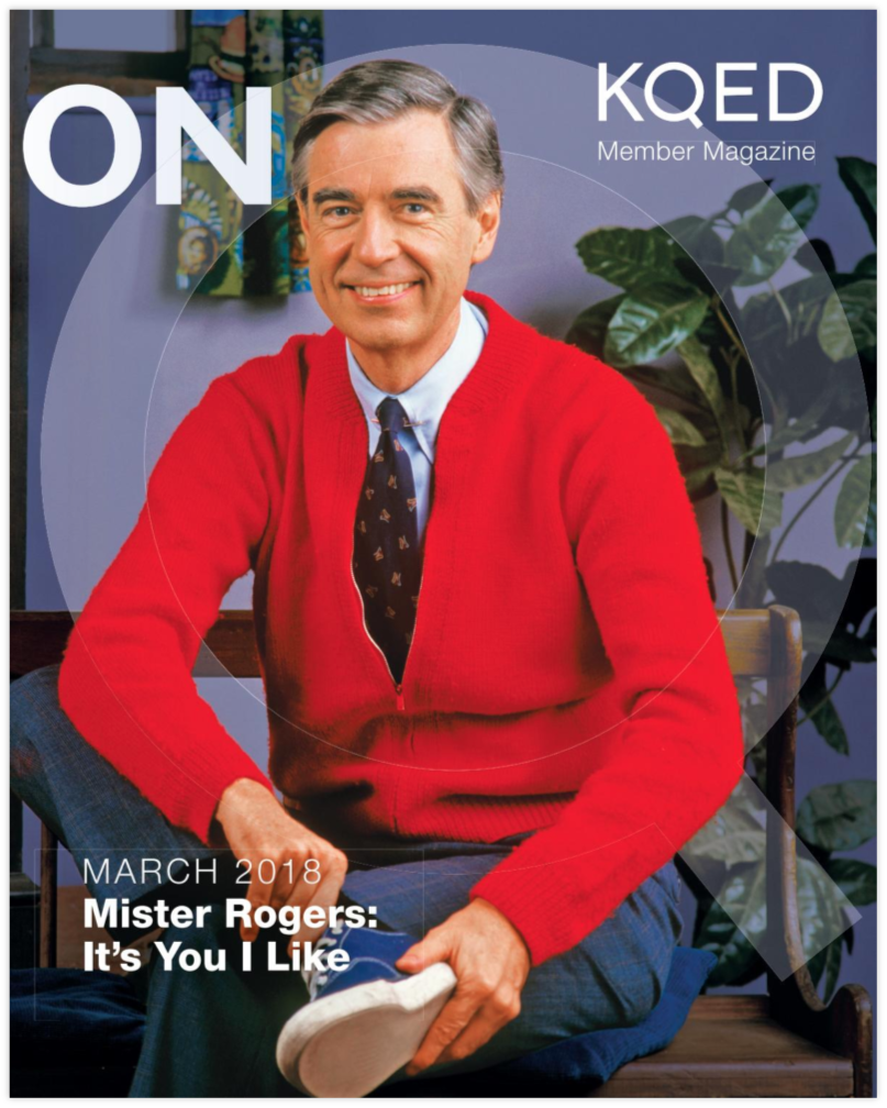 The magazine On Q  publishes monthly updates for KQED members.