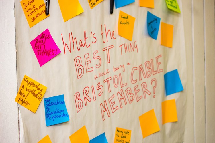 Notes from the Bristol Cable's    2018 Annual General Meeting   .