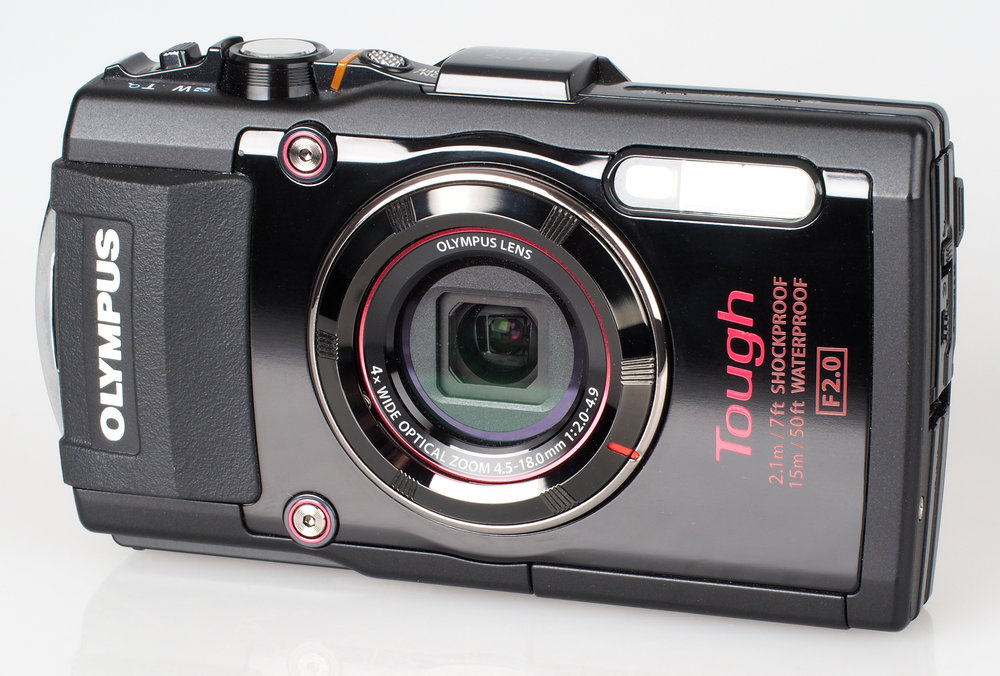 The Olympus Tough TG4 - a smart, compact camera that's waterproof!