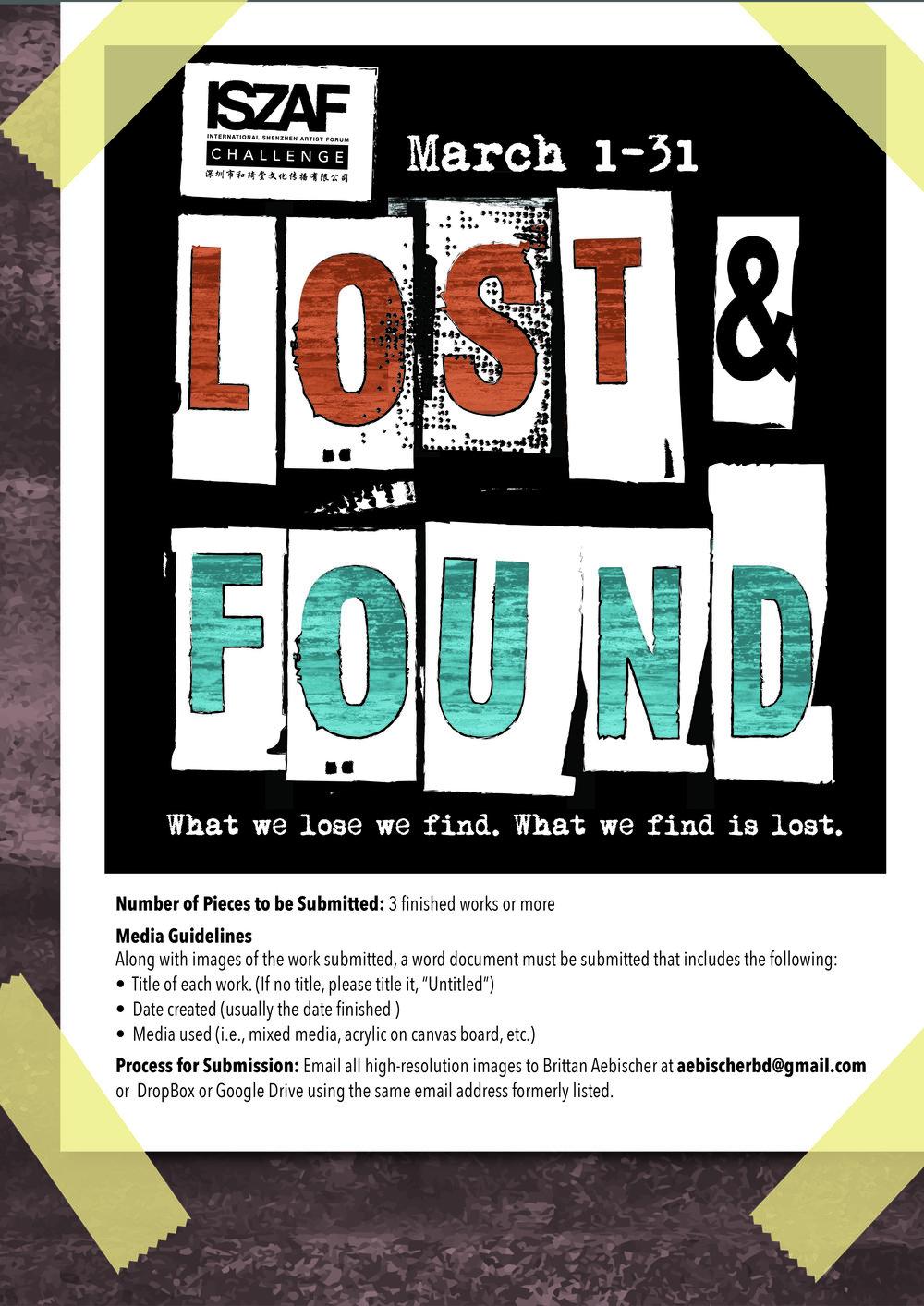 ISZAF March Challenge Poster Design. 2017.