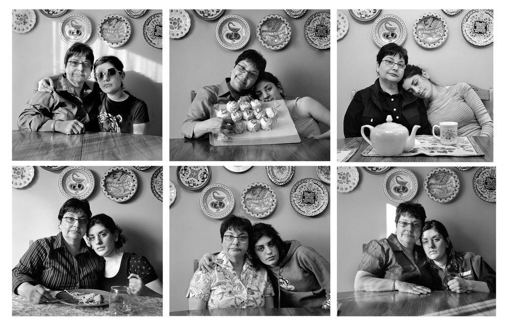 Mom Portraits. Silver Gelatin Prints. 2008.