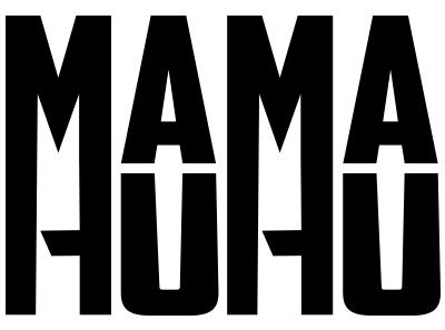 Mama Huhu Band Logo. 2018.