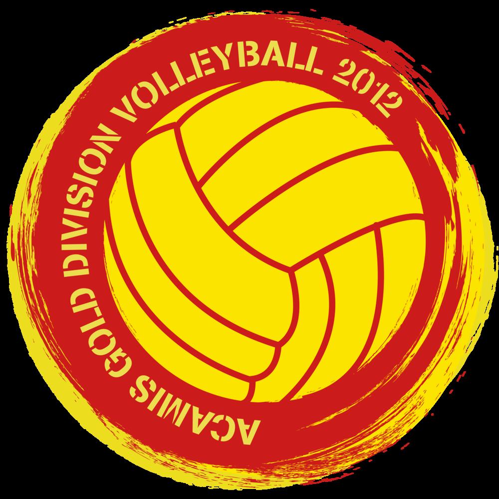 Logo Design- ACAMIS Gold Division Volleyball. 2012.