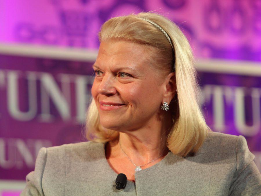 La PDG d'IBM Ginni Rometty.Paul Morigi/Getty Images