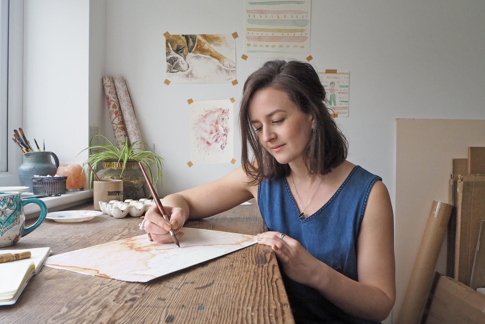 Hello… - I'm Carla, I'm a artist and Illustrator based in Lancashire. I try my best to only use eco friendly products and I love to work with like minded people and businesses. To help them add personality to their brands, enhance their product packaging and even help authors to bring their stories to life!