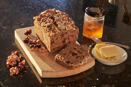 walnut loaf and Nottingham nutritionist