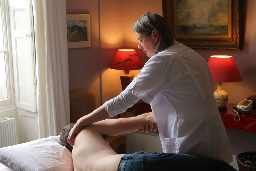 Treating back and shoulder pain
