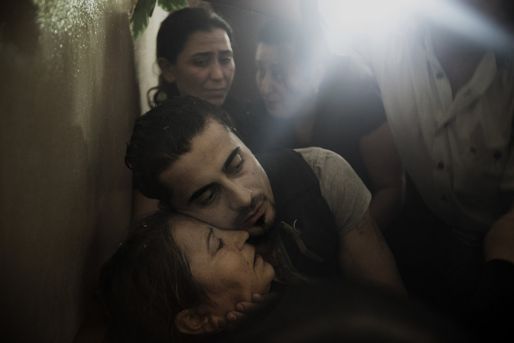 Latakia, SyriaIn the Syrian province of Latakia, a regime stronghold, a small village mourns the loss of a son. Killed in an ambush at the other end of the country. The lieutenant was the first soldier to fall from this village of 125 people.(ran in the NYT, 2013)