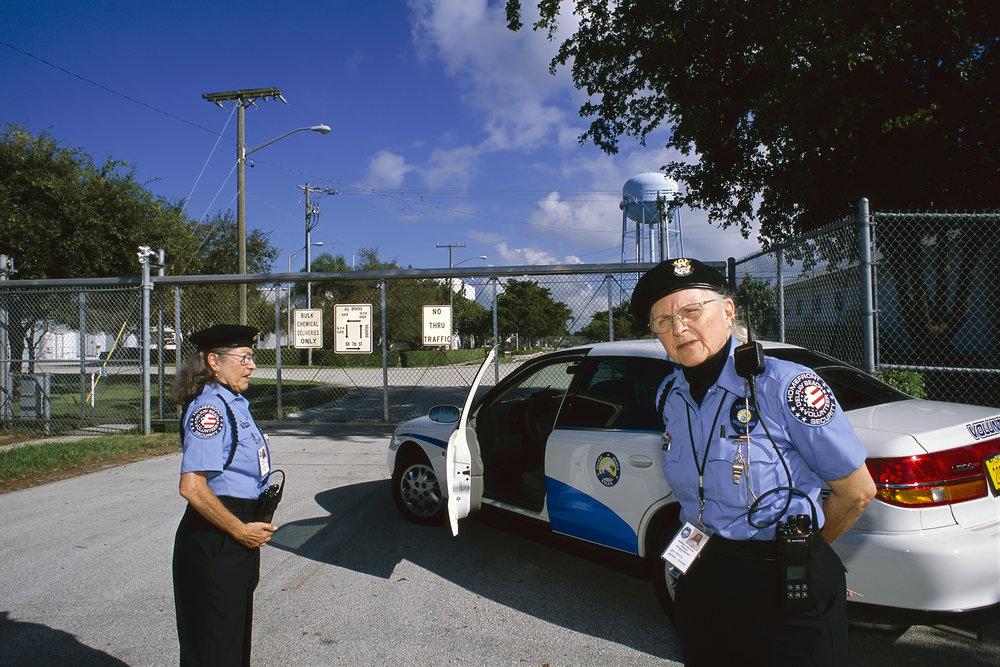 USA, Florida, Delray Beach, 2002, Homefront Security Patrol