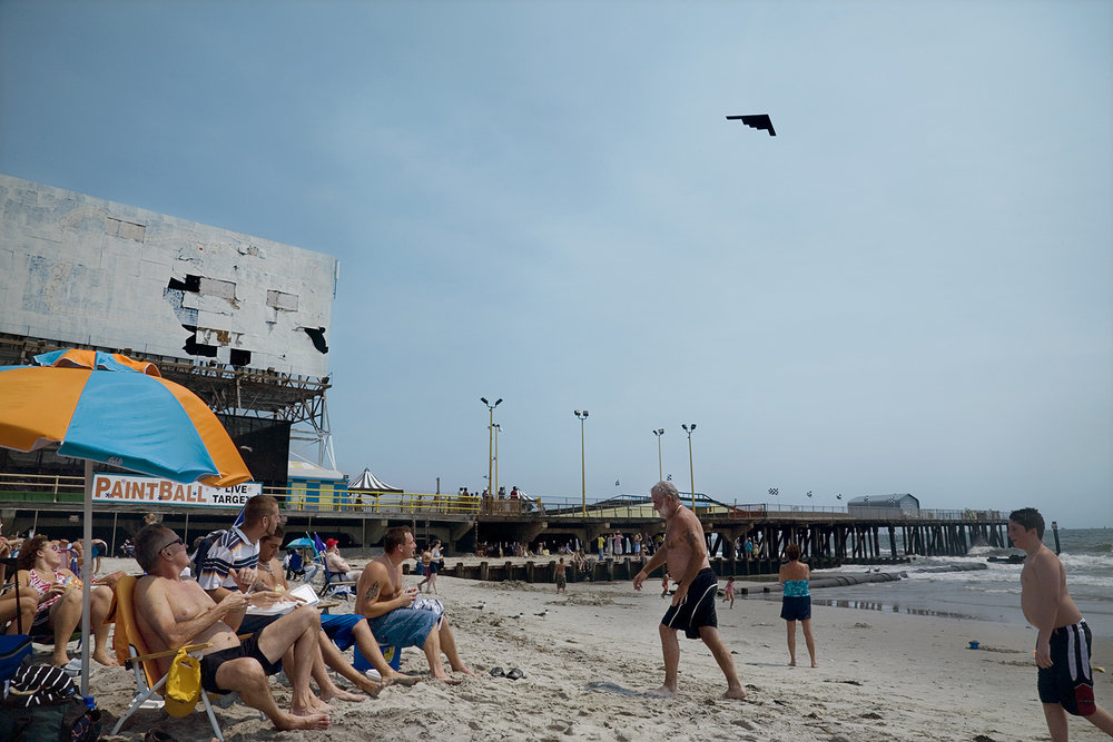 USA, New Jersey, Atlantic City, 2007, Stealth Bomber