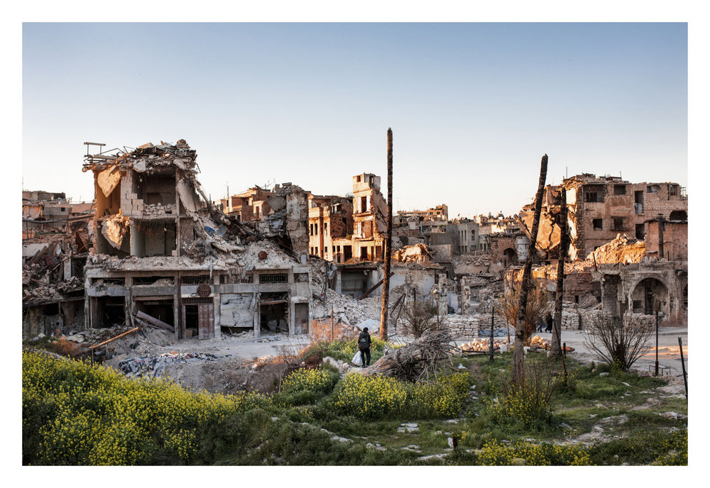 Syria, Aleppo, 25 March 2017Al-Hatab Square is one of the oldest squares in the Syrian city of Aleppo. It is located in the old Jdeydeh Quarter, outside the historic walls of the Ancient City of Aleppo. The square has suffered catastrophic damage that occurred during the Syrian civil war.Sebastian Liste / NOOR