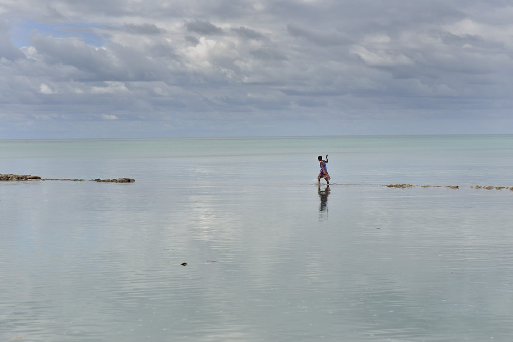 Climate change / sea-level rise in Kiribati