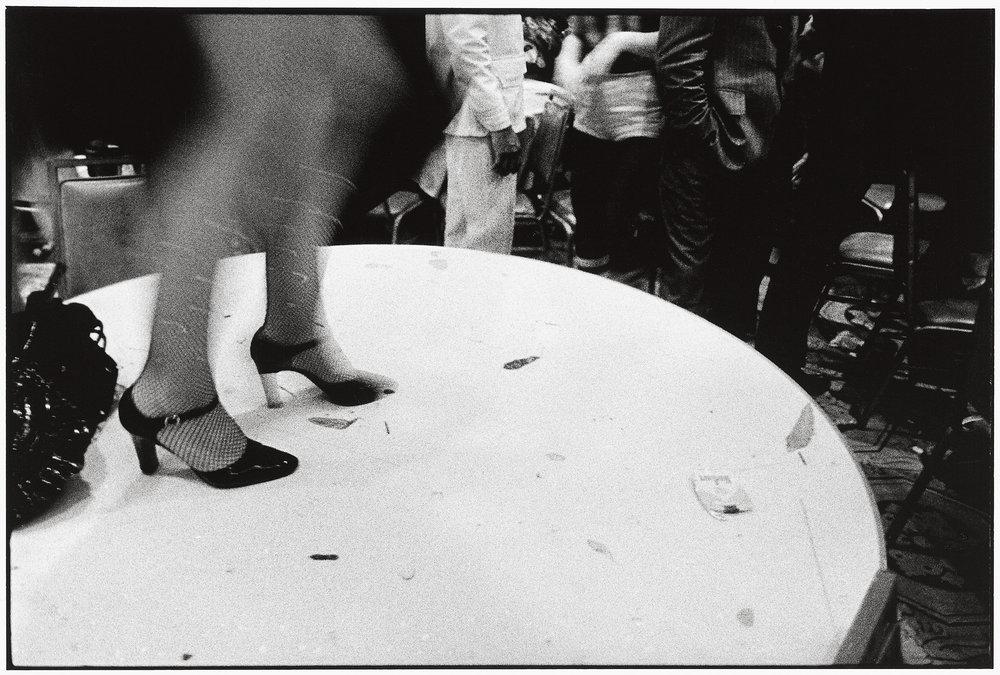 France, Paris, 1986, Black & White Ball.