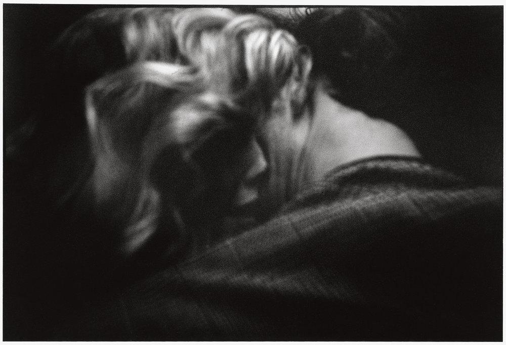 France, Paris, 1989, Carol Spooner takes a snapshot, 3 Rue Bleue.