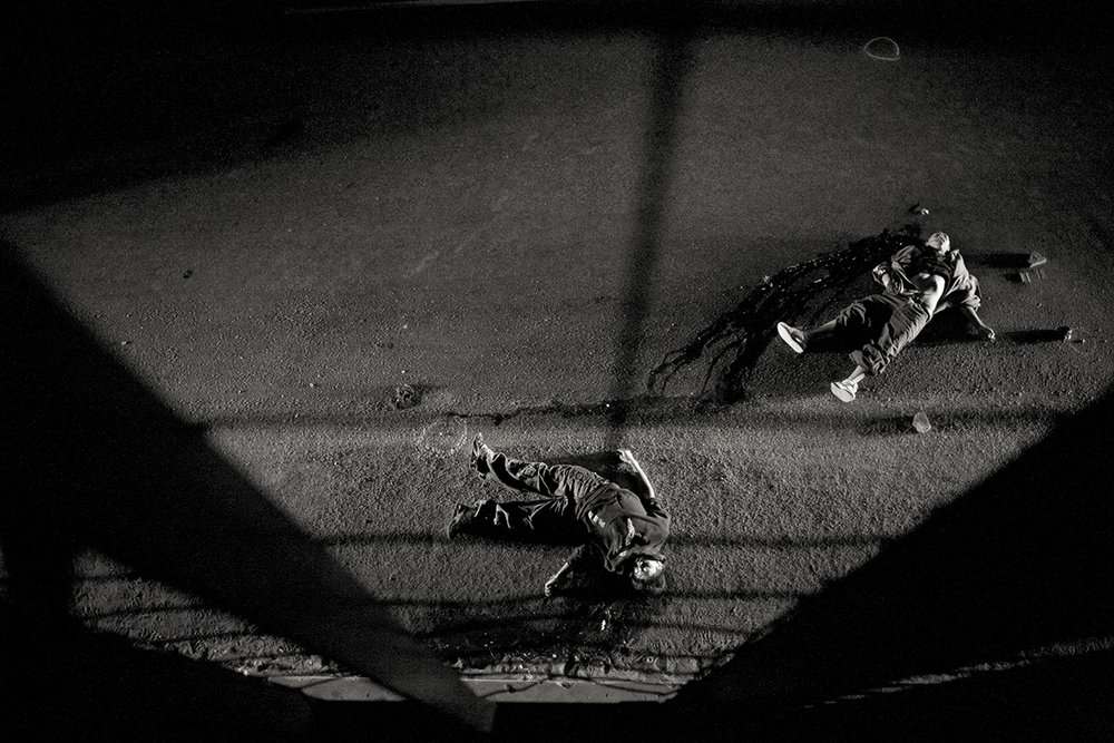 Guatemala, Guatemala City, January 2008, Two teenagers murdered along a highway on the outskirts of Guatemala City.
