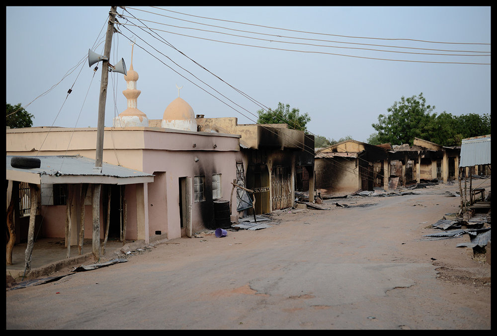 Nigeria, Buni Yadi, March 2015, Buni Yadi was captured last year in July, by Boko Haram. The town was used as a major Boko Haram basis, from where they could get supplies.