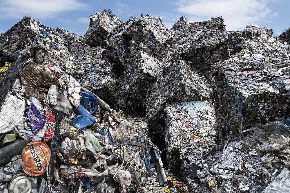 USA, New York, Brooklyn, 19 May 2016Sims Municipal Recycling is located in Brooklyn.Kadir van Lohuizen / NOOR