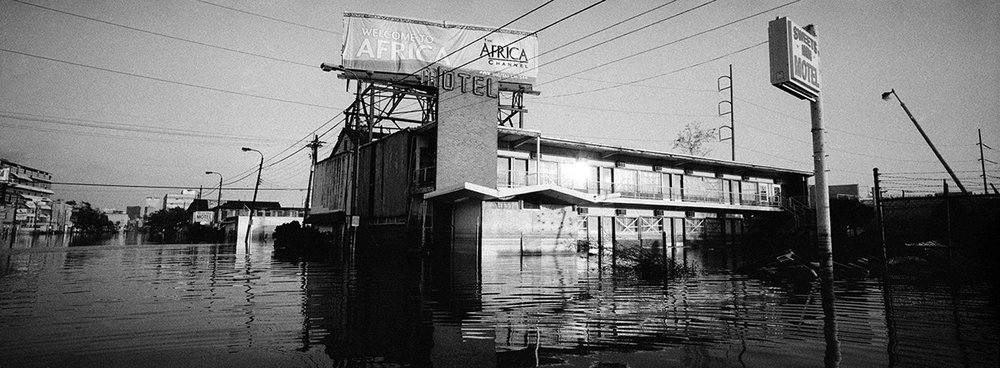 USA, New Orleans, January 2006, Ten days after Hurricane Katrina had passed.