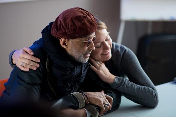 Stanley Greene and Andrea Bruce. Photo: Marko Rupena / Kamerades