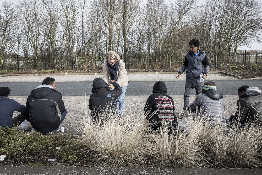 FRANCE - CALAIS - HUMANITY IS NOT PITY