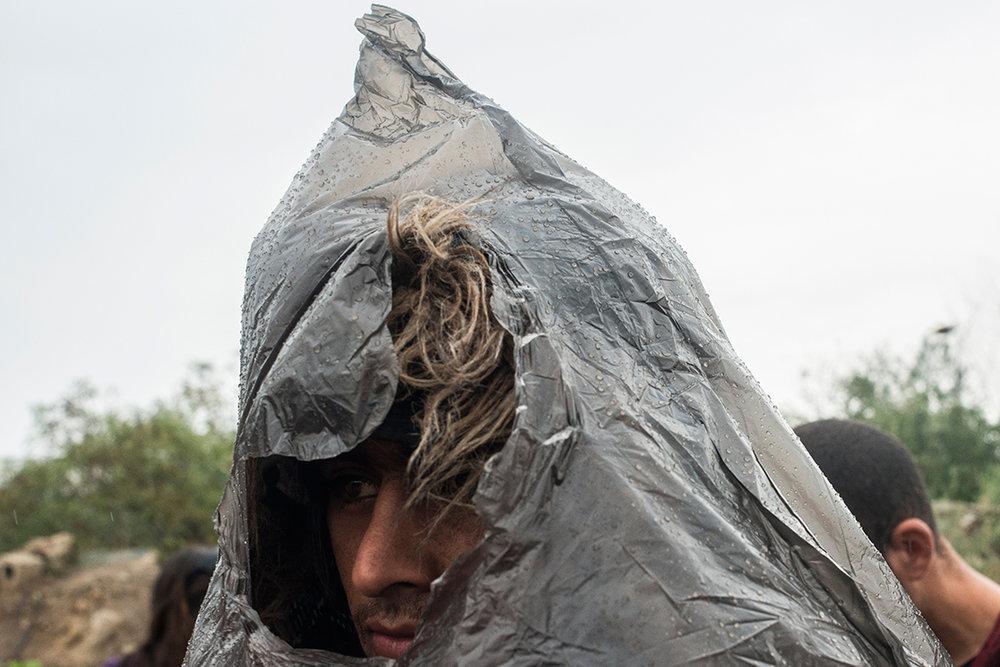 Afghan refugee in Sid