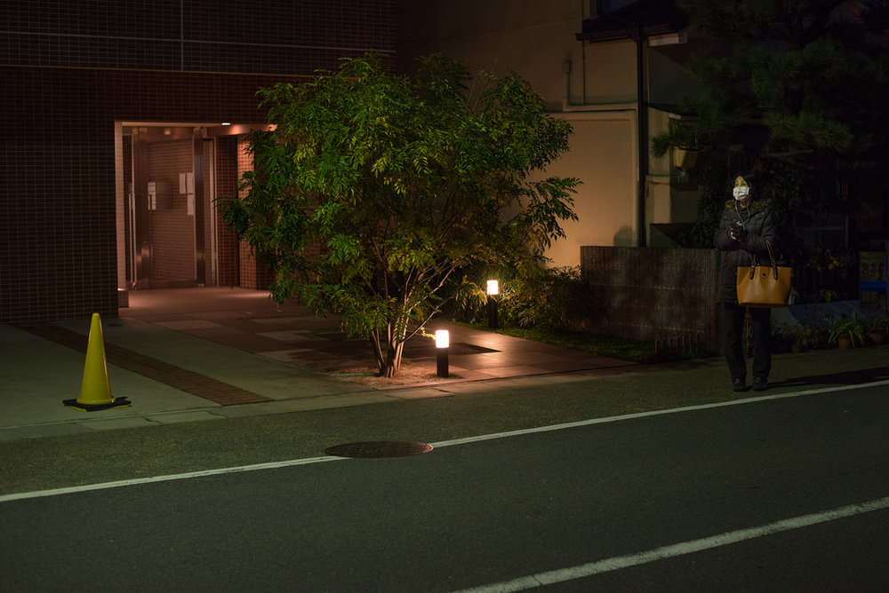 """From the ongoing series """"Lay Off"""". Kyoto, Japan, January 2015"""
