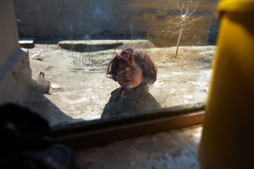 Many children are scarred from harrowing scenes, many fleeing during the night during NATO bombings of their homes.