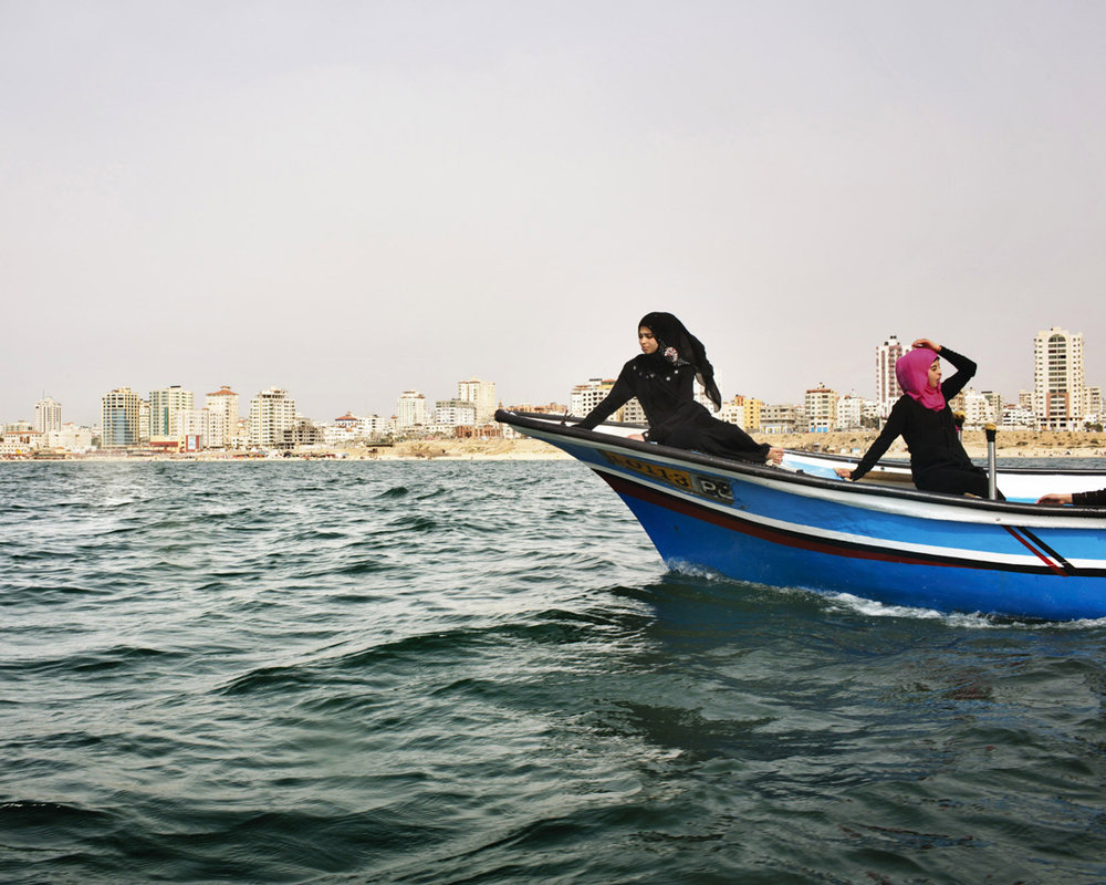 women of gaza - by Tanya Habjouqa