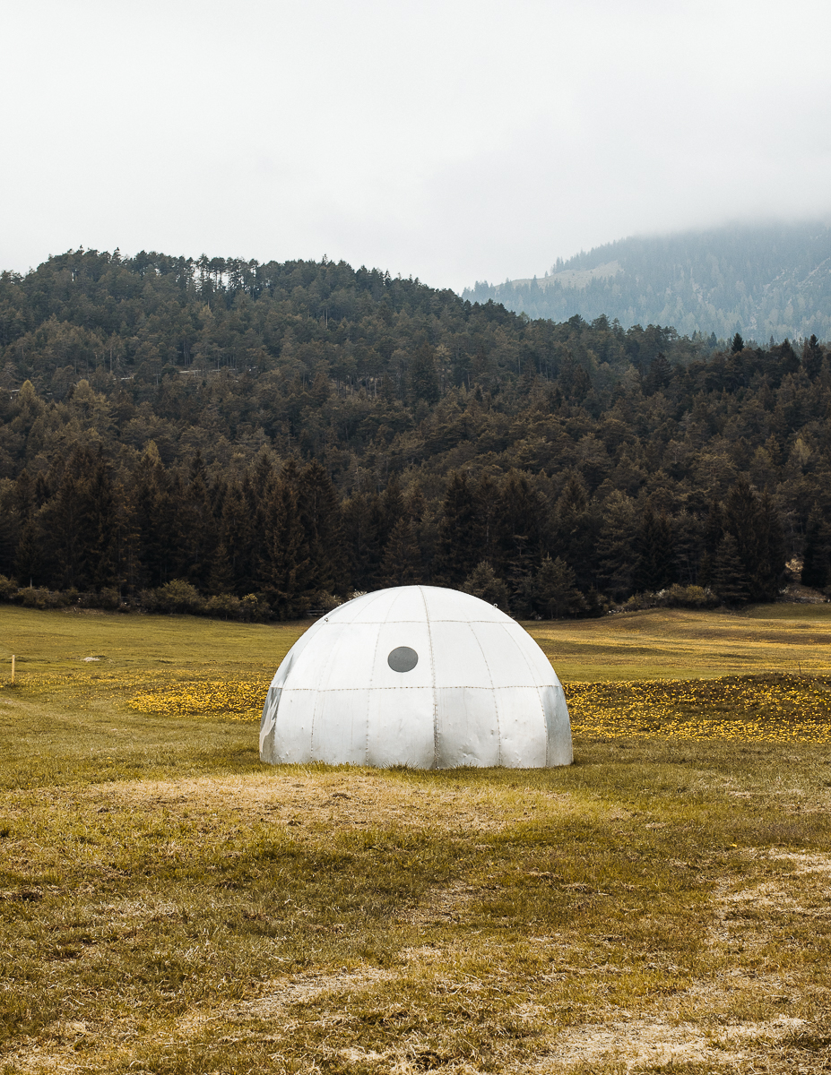 Winter Igloo. Imst, Austria. 05/2018.