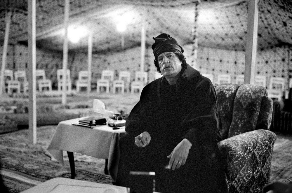Muammar al-Gaddafi Libya, 1997